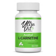 UltraVit Acetyl L-Carnitine, 60 капс