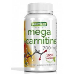 Quamtrax Nutrition Карнитин Mega L-Carnitine 700 мг, 120 капс