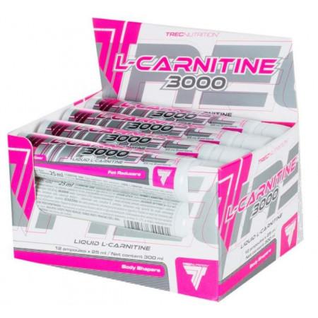 Trec Nutrition L-Carnitine 3000 25 мл, 12 шт, вкус: абрикос