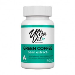 UltraVit Green Coffee bean extract+, 60 капс
