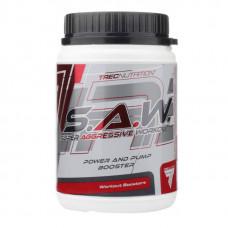 Trec Nutrition Предтренировочный комплекс S.A.W. - SAW, 400 г, вкус: лесная ягода