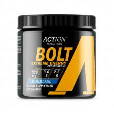 Action Nutrition Bolt Extreme Energy, 232 г, вкус: черника