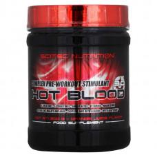 Scitec Nutrition Предтреник Hot Blood 3.0, 300 г, вкус: апельсин