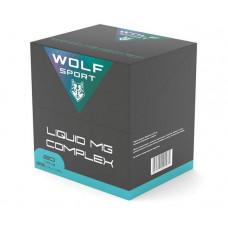 Витаминно-минеральный комплекс Wolf Sport Магний Liquid Mg complex, 20 амп, вкус: ананас