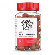 UltraVit Gummies Adult Multivitamin, 60 таб, вкус: апельсин-ваниль