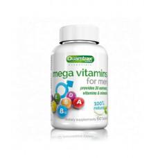 Quamtrax Nutrition Витаминно-минеральный комплекс Mega Vitamins for Men, 60 таб