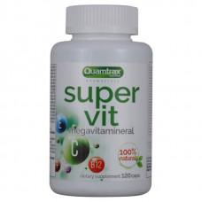 Quamtrax Nutrition Комплекс витаминов и минералов Super Vit, 120 капс
