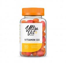 UltraVit Vitamin D3 Gummies, 60 таб