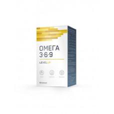 LevelUp ОМЕГА-3-6-9, 60 капс