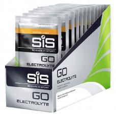 Изотоник Science in Sport Go Electrolyte 40 г, 18 пак, тропические фрукты