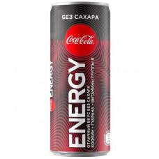 Coca-Cola Coca-Cola Energy - без сахара, 250 мл