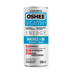Oshee Газированный напиток OSHEE Magnesium+В6, 250 мл, вкус: мультифрукт