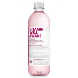 Vitamin Well Напиток Vitamin Well Awake, 500 мл, вкус: малина