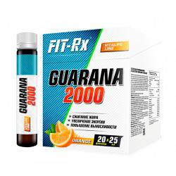 FIT-Rx Guarana 2000, 20 амп, вкус: апельсин