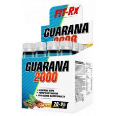 FIT-Rx Guarana 2000, 20 амп, вкус: кофе