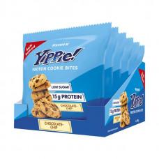 Weider Yippie! Protein Cookie Bites 50 г, 6 шт, вкус: шоколадная стружка