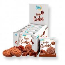 Solvie Протеиновое печенье Solvie 50 г, 10 шт, вкус: шоколадное с шоколадными чипсами