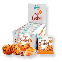 Solvie Протеиновое печенье Solvie 50 г, 10 шт, вкус: арахисовое с шоколадными чипсами