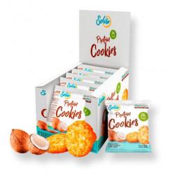Solvie Протеиновое печенье Solvie 50 г, 10 шт, вкус: кокосовое с кокосовой стружкой