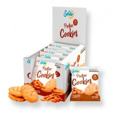 Solvie Протеиновое печенье Solvie 50 г, 10 шт, вкус: миндальное с миндалем