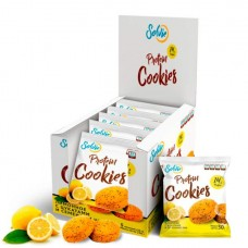 Solvie Протеиновое печенье Solvie 50 г, 10 шт, вкус: лимонное с семенами чиа
