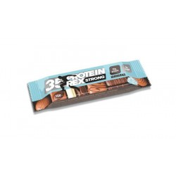 ProteinRex Протеиновые батончики STRONG - 35% 100 г, 12 шт, вкус: шоколад
