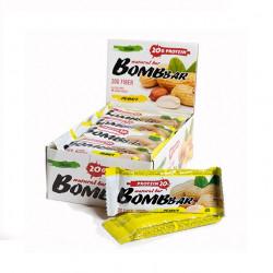 BOMBBAR Bombbar Протеиновые батончики Bombbar, 20 шт, вкус: арахис