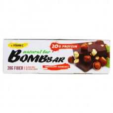BOMBBAR Bombbar Протеиновые батончики Bombbar, 20 шт, вкус: шоколад-фундук