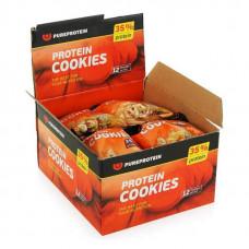PureProtein Высокобелковое печенье Protein Cookies 80 г, 12 шт, вкус: мед-орехи