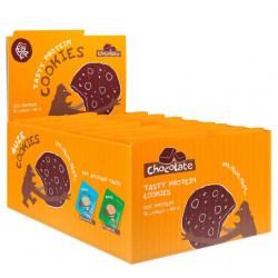 Fuze Печенье Fuze Cookies 40 г, 16 шт, вкус: шоколад