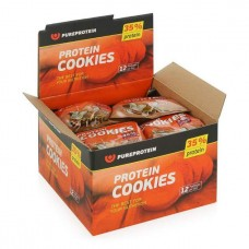 PureProtein Высокобелковое печенье Protein Cookies 80 г, 12 шт, вкус: кокос