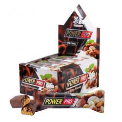 Power Pro Батончики Power Pro - с цельными орехами и фруктами  60 г, 20 шт, вкус: орех