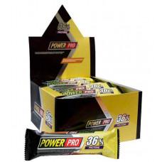 Power Pro Батончики Power Pro 36% 60 г, 20 шт, вкус: тоффи