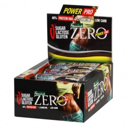 Power Pro Батончики Femine ZERO 50 г, 20 шт, вкус: ваниль-крем