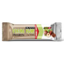 Power Pro Батончики Vegan Bar 20% без сахара 40 г, 15 шт, вкус: шоконатс