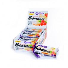 BOMBBAR Bombbar Протеиновые батончики Bombbar, 20 шт, вкус: малиновый чизкейк