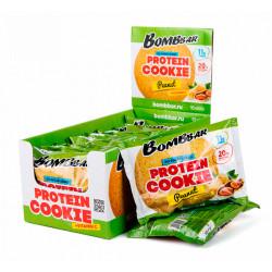 BOMBBAR Protein Cookie 60 г, 10 шт, вкус: арахис