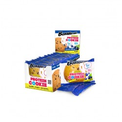 BOMBBAR Protein Cookie низкокалорийные 40 г, 12 шт, вкус: смородина-черника