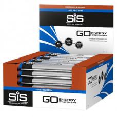 Science in Sport - SIS Батончики Go Energy + Protein Bar, 24 шт, вкус: шоколад-апельсин
