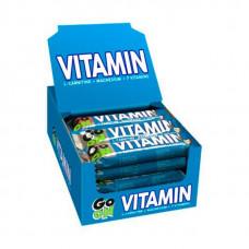 GO ON Nutrition Батончики Vitamin Bar 50 г, 24 шт, вкус: кокос