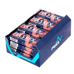 Puls Nutrition Вафли Puls KEX 33% protein 40 г, 20 шт, вкус: шоколад-фундук