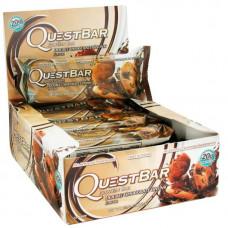 Quest Nutrition Батончики Quest Bar Natural 60 г, 12 шт, вкус: двойной шоколад