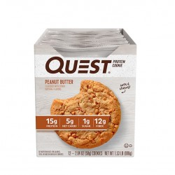 Quest Nutrition Quest Nutrition Печенье Quest Cookies, 12 шт, вкус: с арахисовой пастой