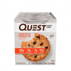 Печенье Quest Cookies, 12 шт, арахисовое масло-кусочки шоколада