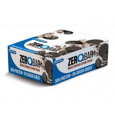 Quamtrax Nutrition Батончики Zero Q-Bar 60 г, 12 шт, вкус: шоколадное печенье-крем