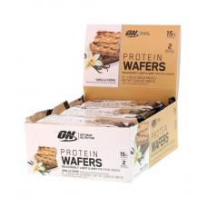 Optimum Nutrition Вафли Protein Wafers 40 г, 9 шт, вкус: ванильный крем