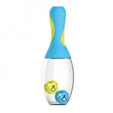 Asobu Стакан-Шейкер Samba, 1 шт, цвет: голубой-желтый