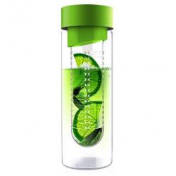 Asobu Бутылка Flavour it, 1 шт, цвет: зеленый