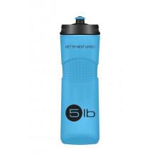 5lb Бутылка 650 мл, 1 шт, цвет: синяя с черным логотипом
