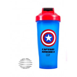 IronTrue Шейкер Super Hero, 700 мл, цвет: Капитан Америка